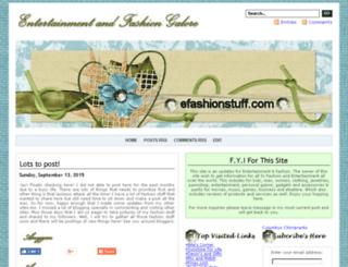 efashionstuff.com screenshot