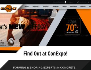 efcoforms.com screenshot