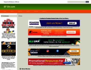 efdir.com screenshot