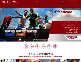 efectivale.com.mx screenshot