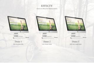 effecty.joomlastars.co.in screenshot