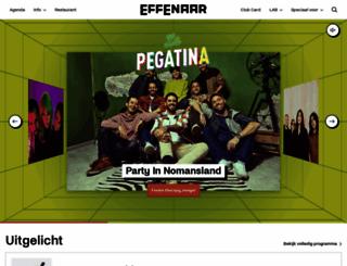 effenaar.nl screenshot