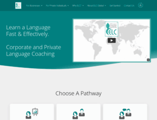 efficientlanguagecoaching.com screenshot