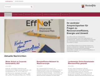 effnet.rlp.de screenshot