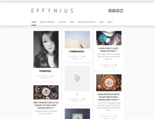 effynius.com screenshot