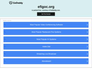 efigoc.org screenshot