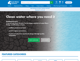 efilterwater.com screenshot