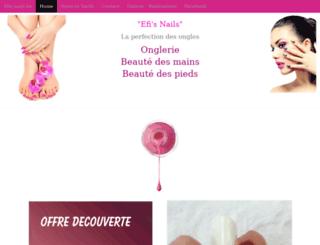 efis-nails.be screenshot