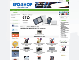 efo-shop.com screenshot