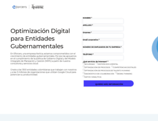 eforcers.com screenshot