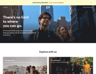 efpartner.ef.com screenshot