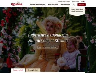 efteling.com screenshot
