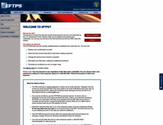 eftps.gov screenshot