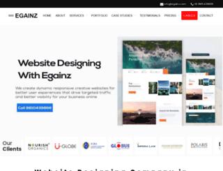 egainz.com screenshot