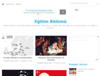 egitimbolumu.com screenshot