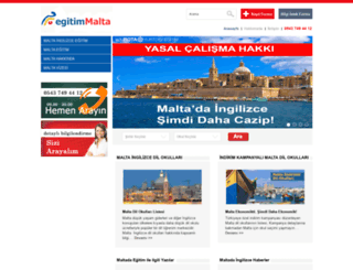 egitimmalta.com screenshot