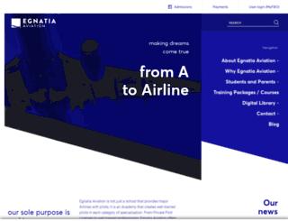 egnatia-aviation.aero screenshot