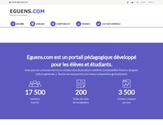 eguens.com screenshot