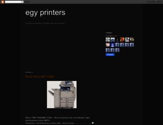 egyprinters.blogspot.com screenshot