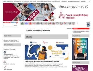 egzaminy.studentnews.pl screenshot