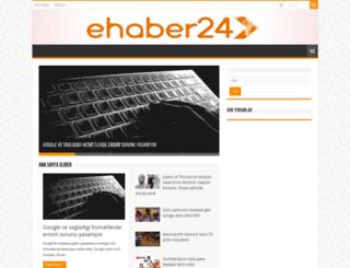 ehaber24.com screenshot