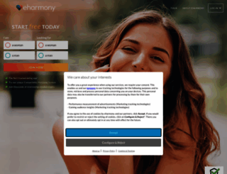 eharmony.co.uk screenshot