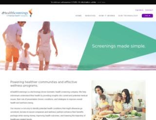 ehealthscreenings.com screenshot