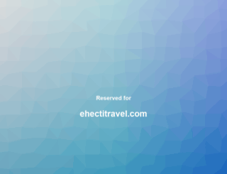 ehectitravel.com screenshot