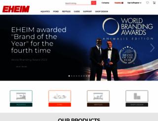 eheim.com screenshot