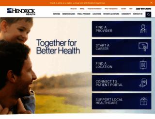 ehendrick.org screenshot