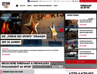ehrenamt-im-sport.de screenshot