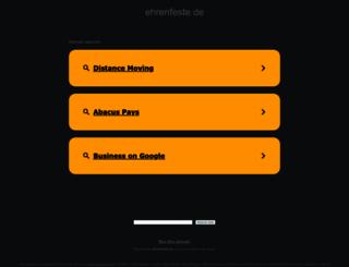 ehrenfeste.de screenshot