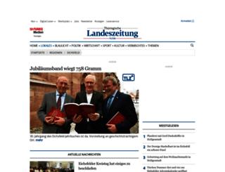 eichsfeld.tlz.de screenshot