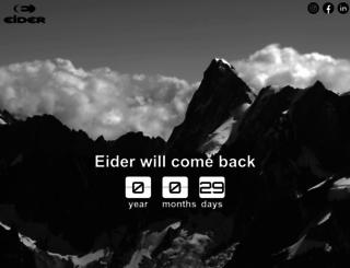 eider.com screenshot