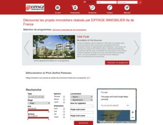 eiffage-immobilier.evimmo.fr screenshot