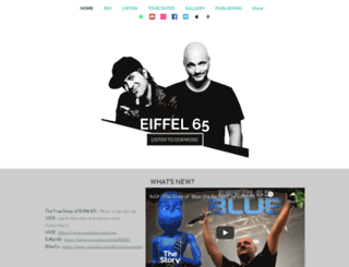 eiffel65.com screenshot
