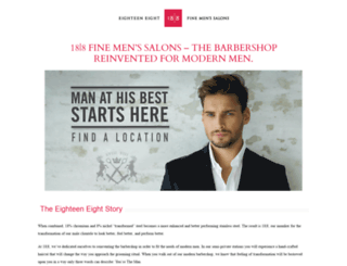 eighteeneight.com screenshot