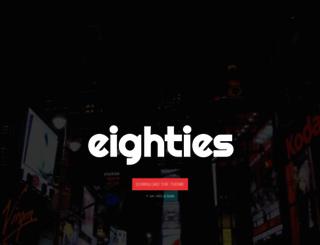 eighties.me screenshot
