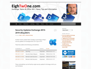 eightwone.com screenshot