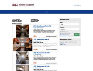 eigpm.managebuilding.com screenshot