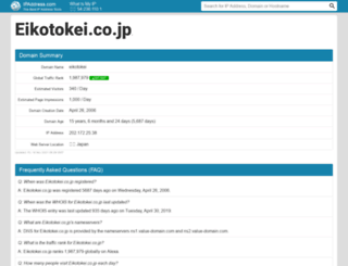 eikotokei.co.jp.ipaddress.com screenshot