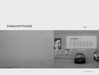 einbahnstrasse.xyz screenshot