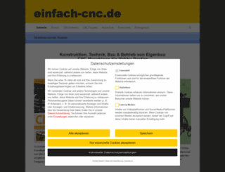 einfach-cnc.de screenshot