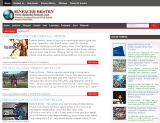 einfache-besten.blogspot.com screenshot