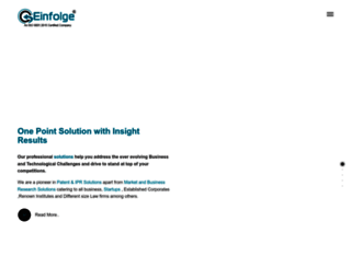 einfolge.com screenshot