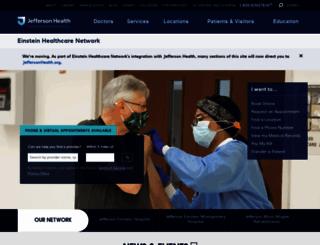 einstein.edu screenshot