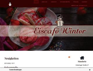 eiscafe-winter.de screenshot