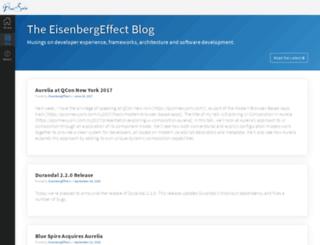 eisenbergeffect.bluespire.com screenshot