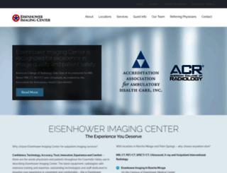 eisenhowerimaging.org screenshot