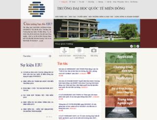 eiu.edu.vn screenshot